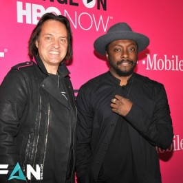 will.i.am at T-Mobile event