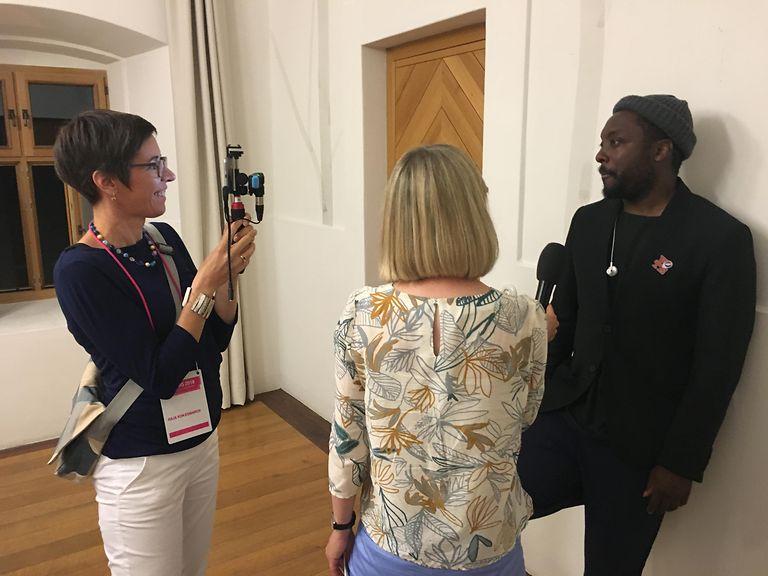 Interview about AI with Deutsche Telekom